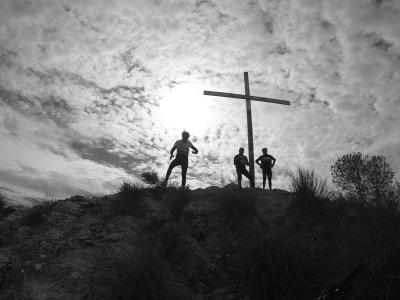 Ruta MTB - Subida a las dos Cruces del Miravete por Torreagüera (Murcia)